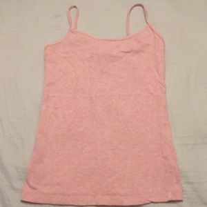 Forever 21 Cotton Cami Women's Size S Heather Pink